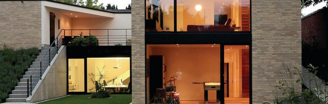 buchtipp moderne einfamilienh user aus backstein nachhaltig vielseitig individuell. Black Bedroom Furniture Sets. Home Design Ideas